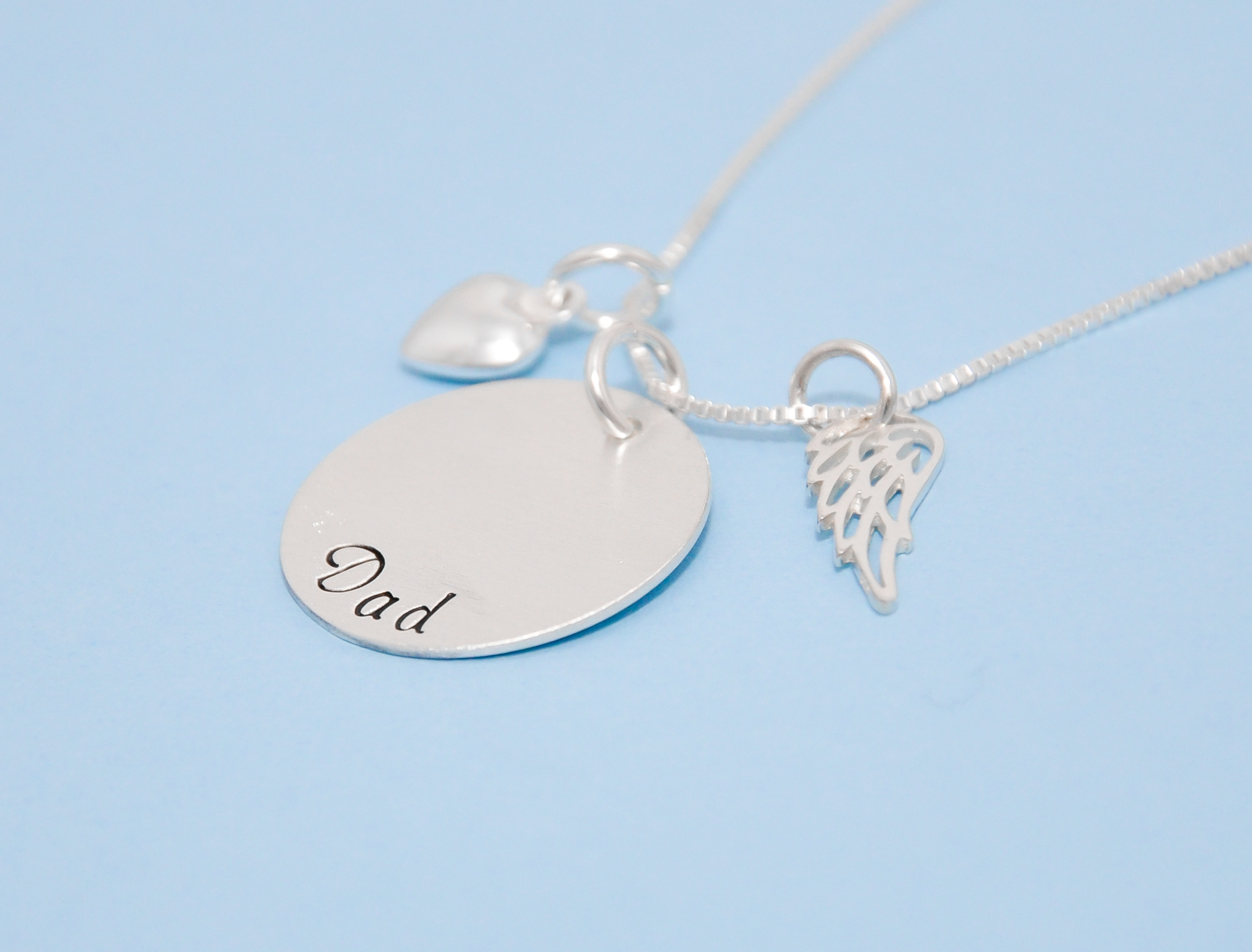 product sterling megan goldner necklace designs pendant ribbon ash silver memorial