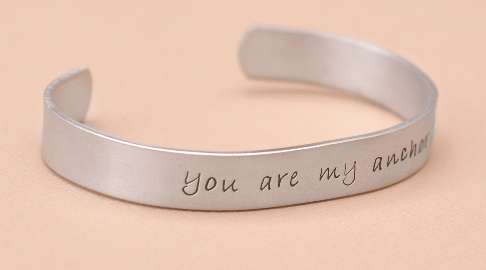 from open cuff product arrival bracelet wholesale hand shuocong silver bangle stamped engraved stainless new jewelry words com dhgate steel