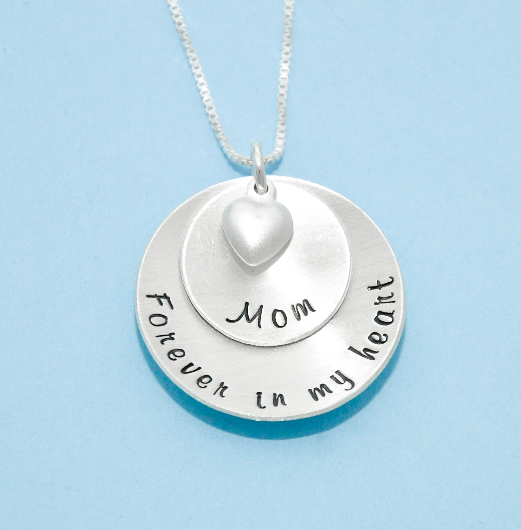 pendant loved you ones silver pin jewelry memorial for writing order to made actual your